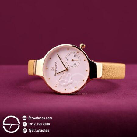 ساعت مچی زنانه عقربه ای  نیوی فورس اورجینال مدل NF5001L