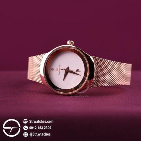 ساعت مچی زنانه عقربه ای  نیوی فورس اورجینال مدل NF5004
