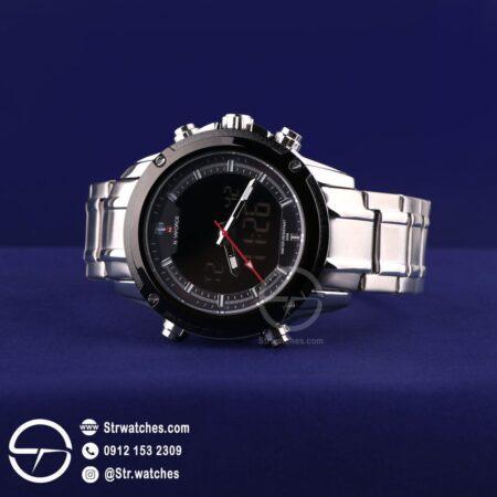 ساعت مچی مردانه ترکیب  عقربه ای دیجیتال نیوی فورس اورجینال مدل NF9050