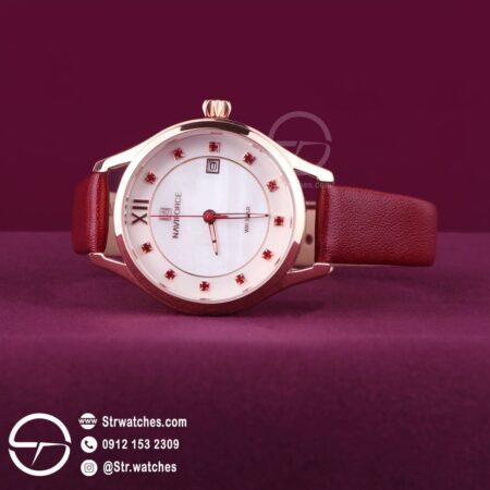 ساعت مچی زنانه عقربه ای  نیوی فورس اورجینال مدل NF5010