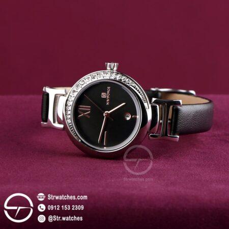 ساعت مچی زنانه عقربه ای  نیوی فورس اورجینال مدل ۵۰۰۷