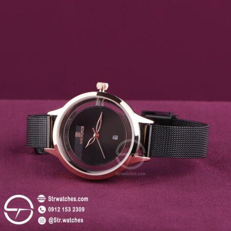 ساعت مچی زنانه عقربه ای  نیوی فورس اورجینال مدل NF5014