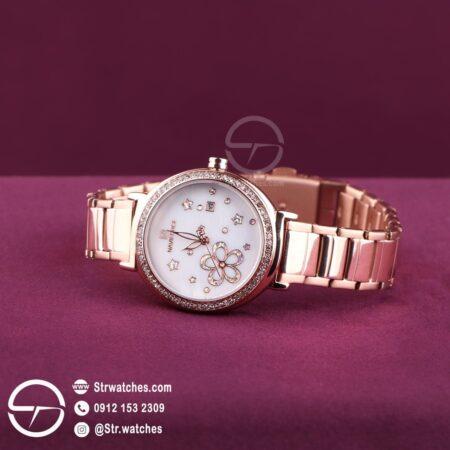 ساعت مچی زنانه عقربه ای  نیوی فورس اورجینال مدل NF5016