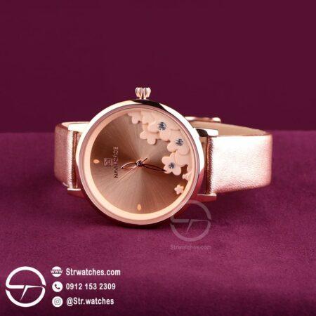 ساعت مچی زنانه عقربه ای  نیوی فورس اورجینال مدل NF5012