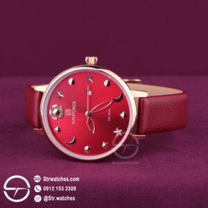 ساعت مچی زنانه عقربه ای  نیوی فورس اورجینال مدل NF5009