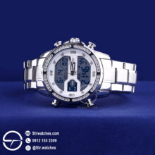 ساعت مچی مردانه ترکیب  عقربه ای دیجیتال نیوی فورس اورجینال مدل NF9190
